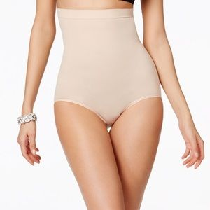 Spanx Higher Power Panties Color:Soft Nude Sz:S
